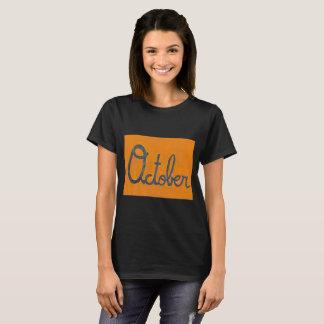 The October Cursive Shirt