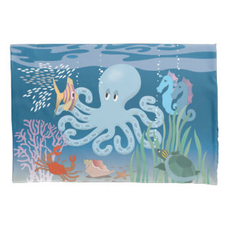 The Octopus Pillow Case