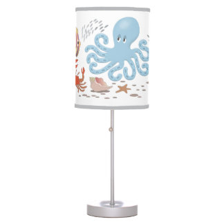 The Octopus Table Lamp