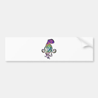 THE OCTOPUS WAVE BUMPER STICKER