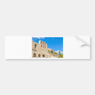 The Odeon of Herodes Atticus in Athens, Greece Bumper Sticker