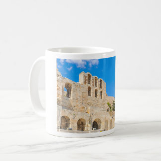 The Odeon of Herodes Atticus in Athens, Greece Coffee Mug