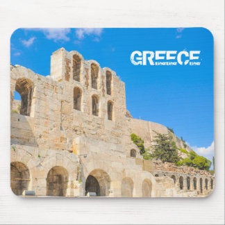 The Odeon of Herodes Atticus in Athens, Greece Mouse Pad