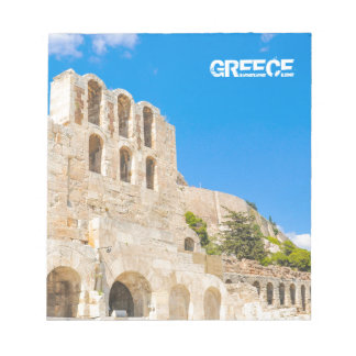 The Odeon of Herodes Atticus in Athens, Greece Notepad