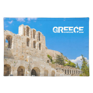 The Odeon of Herodes Atticus in Athens, Greece Placemat