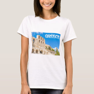 The Odeon of Herodes Atticus in Athens, Greece T-Shirt