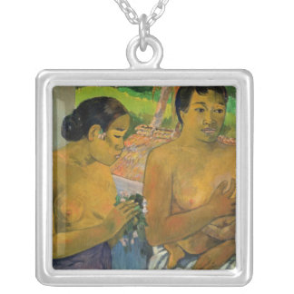 The Offering, 1902 Silver Plated Necklace