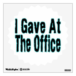 The Office Wall Decal