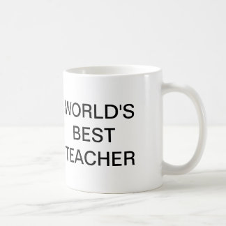 The Office, World's Best Teacher Classic White Coffee Mug
