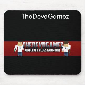 The official DevoGamez Mouse pad! Mouse Pad