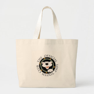 The Official lost tooth club badge Jumbo Tote Bag