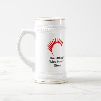 """The Official """"Moe Hawk"""" Stein! Beer Stein"""