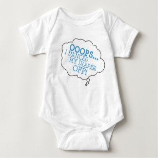 The official Ooops one piece! Baby Bodysuit