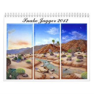 The official Snake Jagger 2012 Calender Wall Calendar