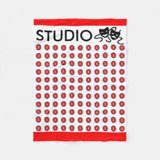 The Official Studio 1 Green Room Nap Blankie Fleece Blanket
