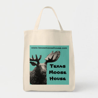 The Official Texas Moose House Grocery Tote Grocery Tote Bag
