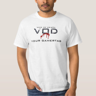 The Official VOD Dirt Cheap Customizable Tee
