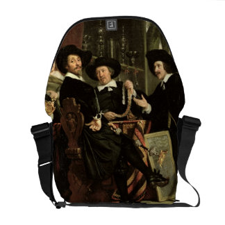 The Officials of the Company of Bowyers of St. Seb Messenger Bag
