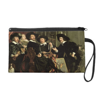 The Officials of the Company of Bowyers of St. Seb Wristlet Purses