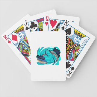 THE OFFSHORE CALLING BICYCLE PLAYING CARDS