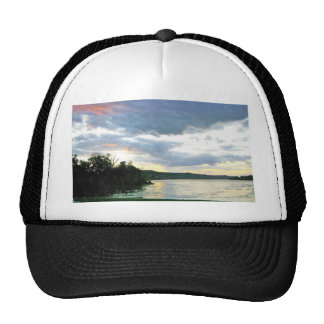 The Ohio River Valley Sunrise Trucker Hat