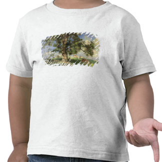 The Old Ash Tree (oil on canvas) Shirts