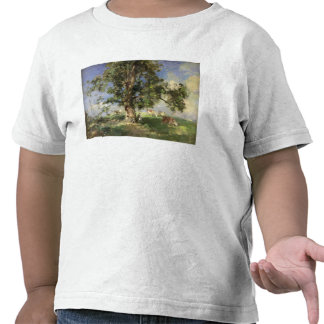 The Old Ash Tree (oil on canvas) Tee Shirts