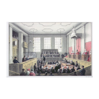 The Old Bailey, London Canvas Print