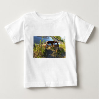The Old Cars of Eklutna Tailrace Baby T-Shirt