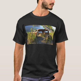 The Old Cars of Eklutna Tailrace T-Shirt