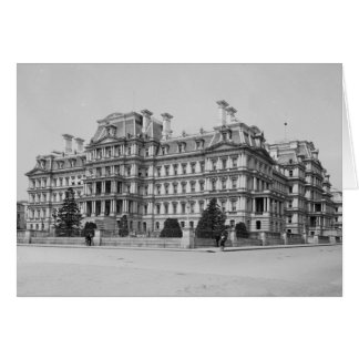 The Old Executive Office Building in 1902 Card