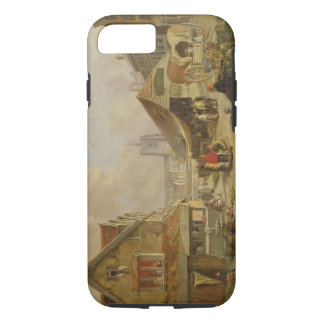 The Old Fishmarket, Norwich, 1825 (oil on panel) iPhone 7 Case