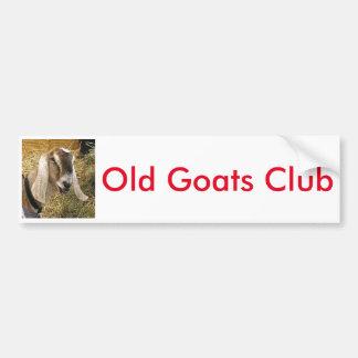 The Old Goats Club Bumper Sticker