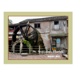 The Old Grist Mill at St. Augustine, Florida Postcard