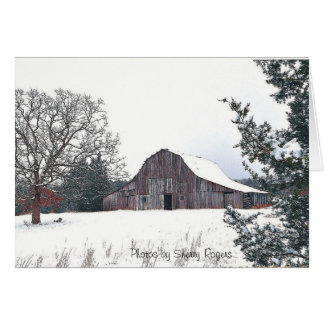 ~The Old Knolls Barn~ Card
