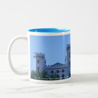 The Old Louisiana State Capitol Two-Tone Coffee Mug