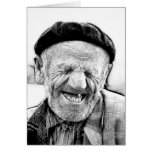 THE OLD MAN GREETING CARD