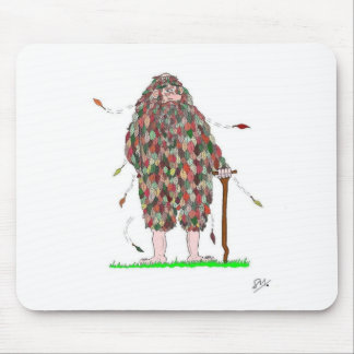 The Old Man of Autumn Mouse Pad