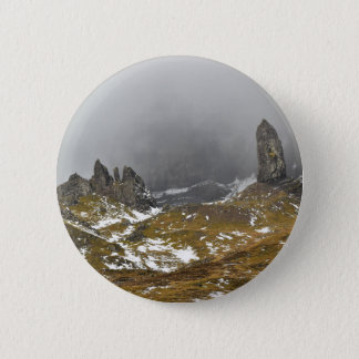 The Old Man of Storr 2 Inch Round Button