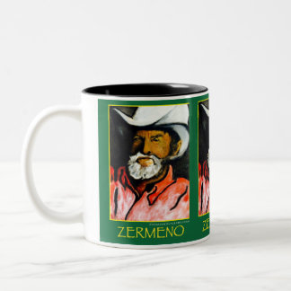 "The ""Old Master"" Cowby (Wraparound) Two-Tone Coffee Mug"