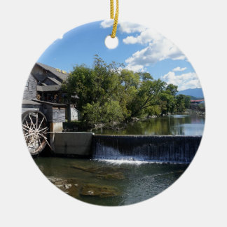 The Old Mill Ceramic Ornament