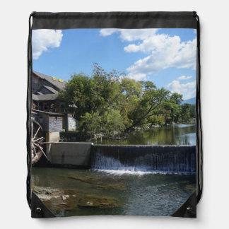 The Old Mill Drawstring Bag