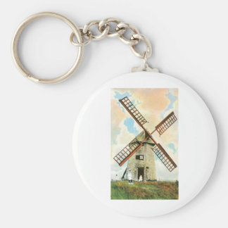 The Old Mill, Nantucket, Mass Keychain
