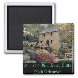 The Old Mill North Little Rock Arkansas Square Magnet