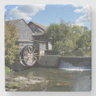 The Old Mill Stone Coaster