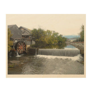 The Old Mill Wood Wall Decor