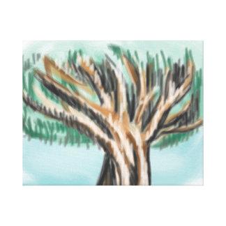 'The Old Oak Tree' 20x16 Premium Cavas (Gloss) Canvas Print