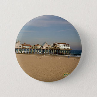 The Old Orchard Beach Pier 2 Inch Round Button