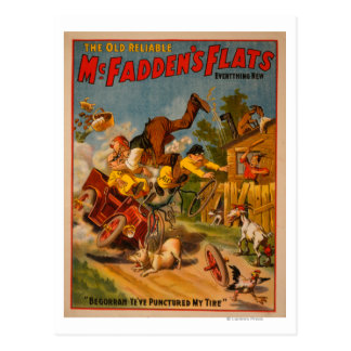 The Old Reliable McFadden's Flats Everything New Postcards
