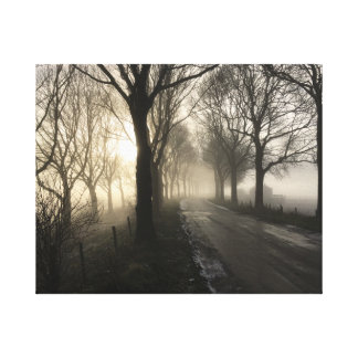 The Old Road Canvas Print